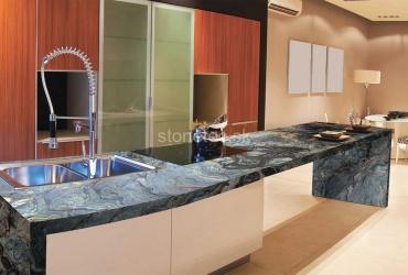 Kuchynská pracovná doska z modrej žuly