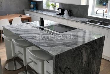 Kuchynský ostrovček Viscont White
