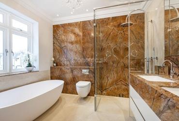 Obklad kúpeľne Rainforest Brown