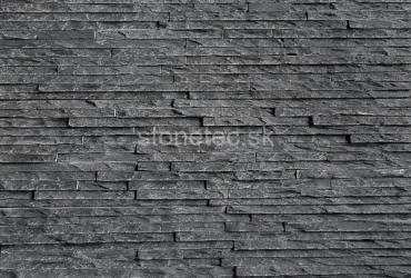 Obklad na stenu Black Slate pásiky