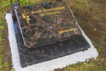 Urnový hrob zo žuly Aurora