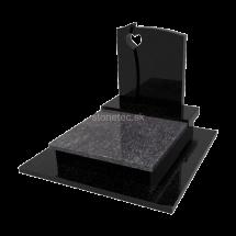 Viacgeneračný urnový hrob Steel Grey